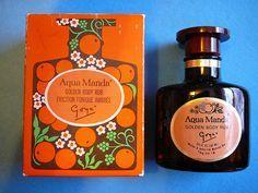 Aqua Manda Fragrance - the bath essence was divine!