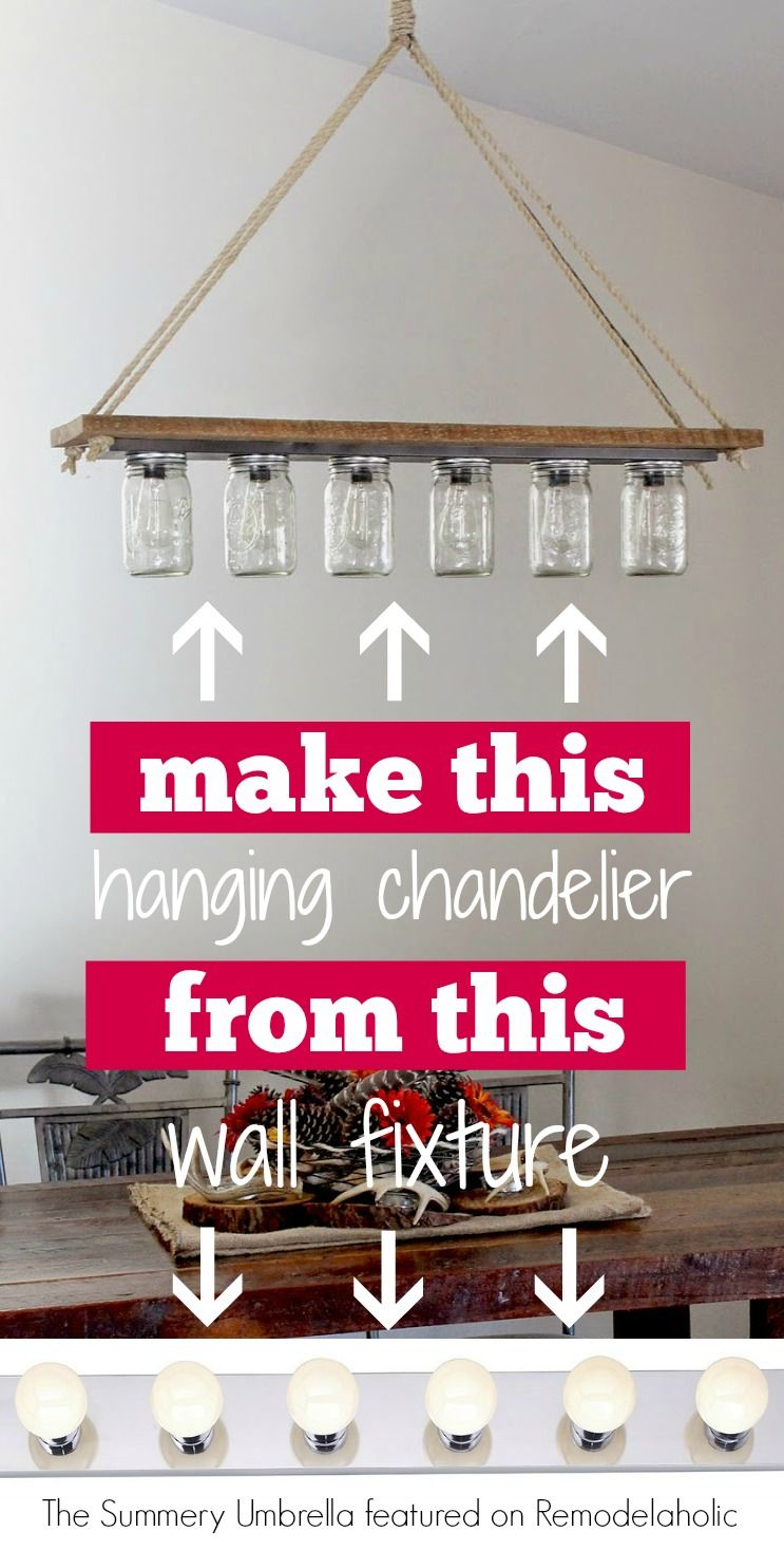 12 Rustic Lighting Ideas Diy Chandelier Diy Lighting Diy Projects