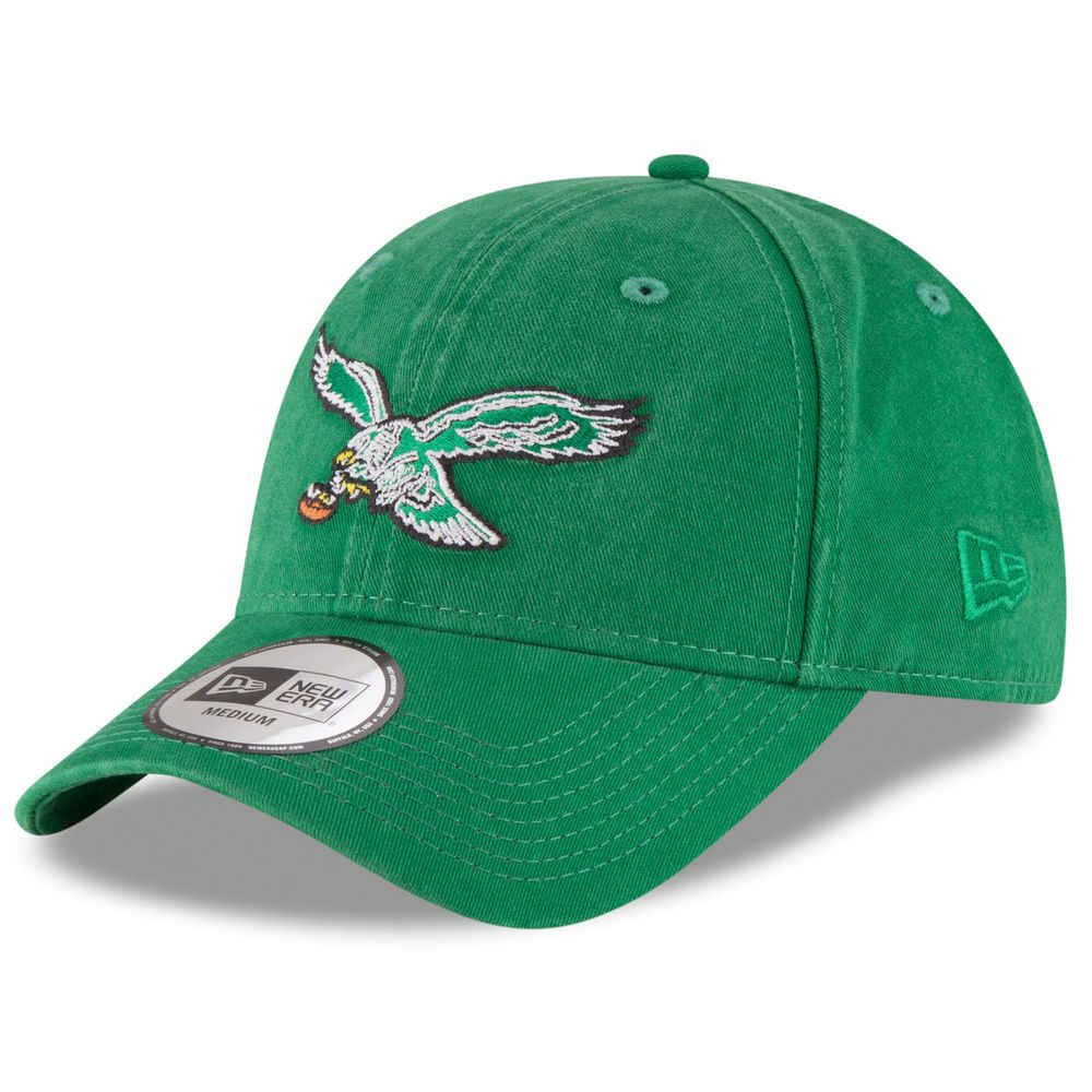 346296c2 Philadelphia Eagles New Era NE Core Fit Throwback 49FORTY Fitted Hat - Green