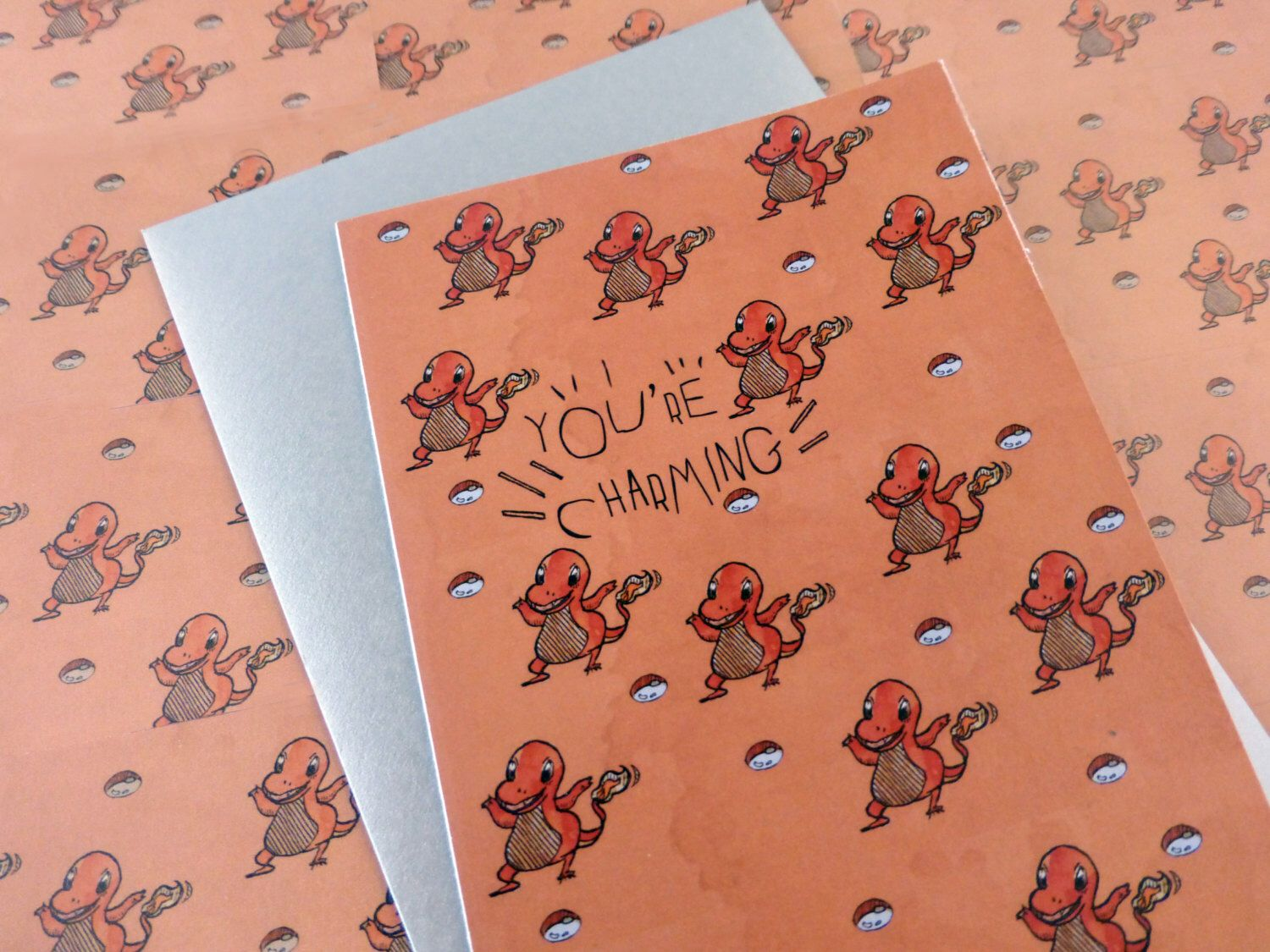 Charmander   Pokemon Greeting Card   Blank   Best Friend   For him   For her   Anniversary   Humour   Punny   Romantic card   All occasion by lalalam on Etsy https://www.etsy.com/sg-en/listing/249058520/charmander-pokemon-greeting-card-blank