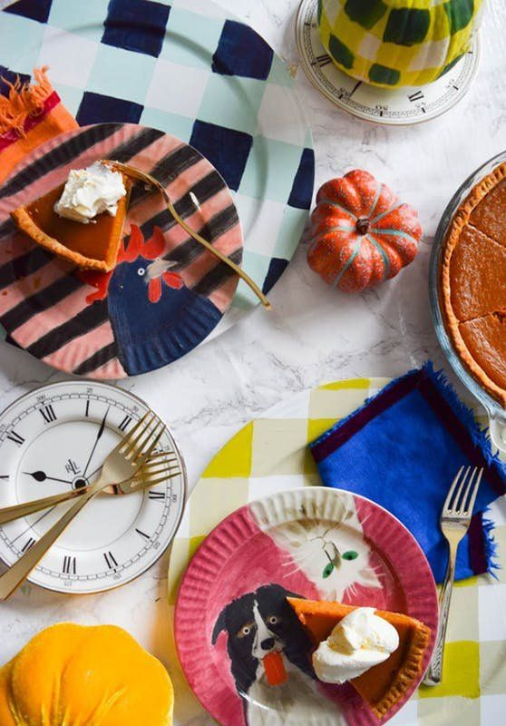 Thanksgiving ideas · Transform basic white plastic plates ... & Turkey Piñatas Friendsgiving Printables and More Last-Minute ...