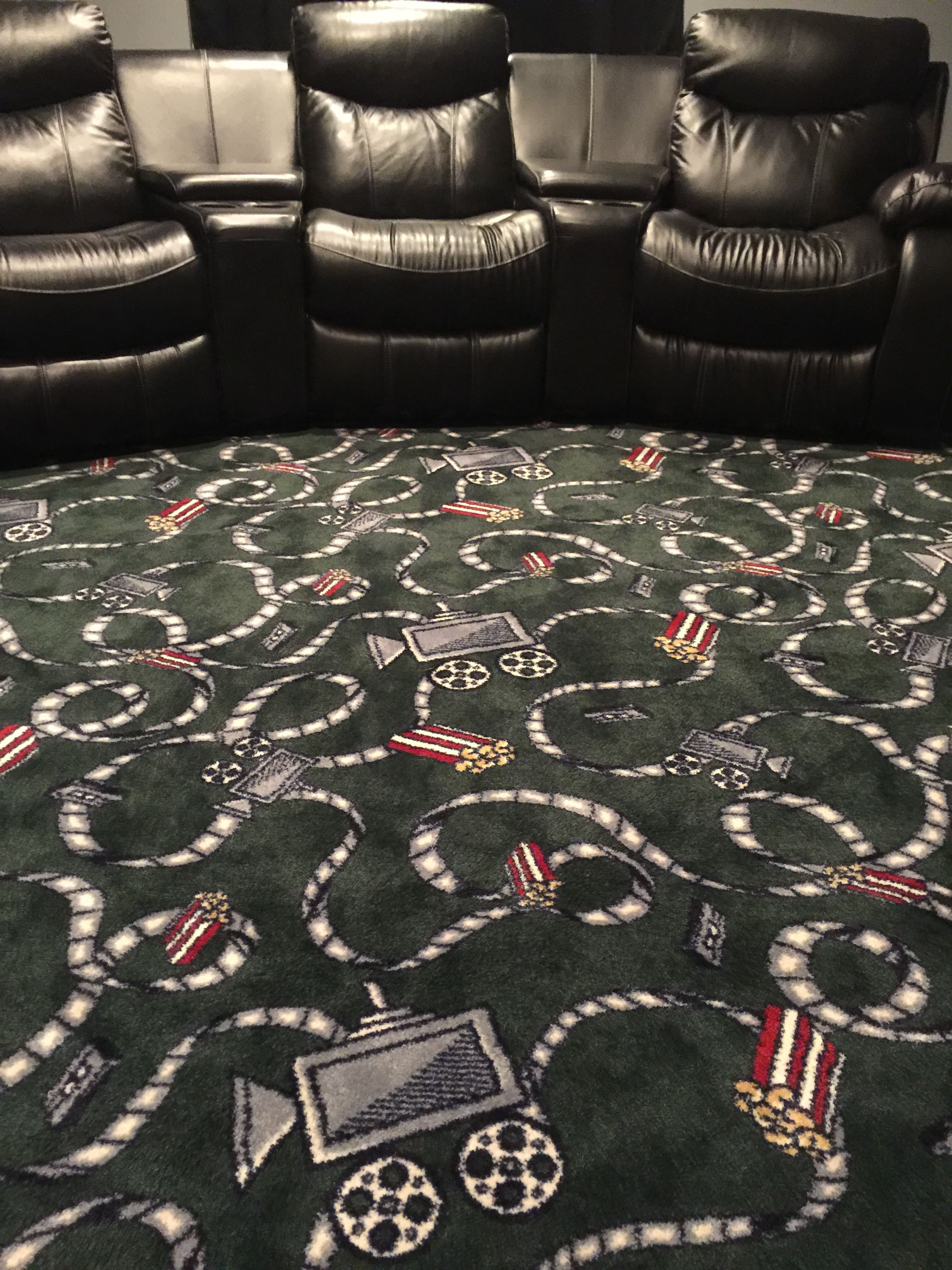 love this home theatre carpet intermission by milliken