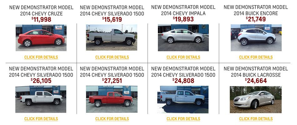 Arcadia Chevrolet Buick Is Desoto County S Preferred Dealership