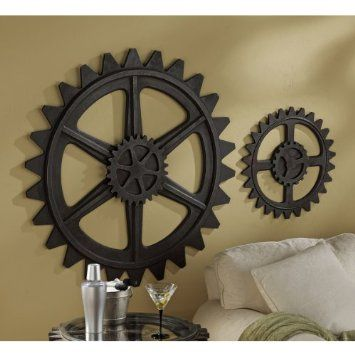 Industrial Gears Wall Art