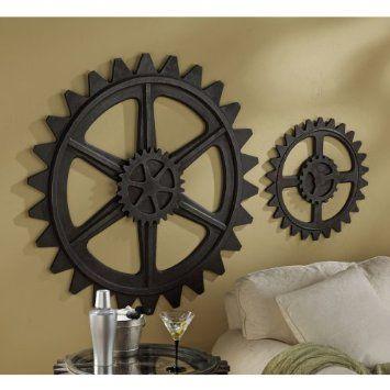 Industrial Metal Wall Art industrial gears (wall art) | apartment ideas | pinterest