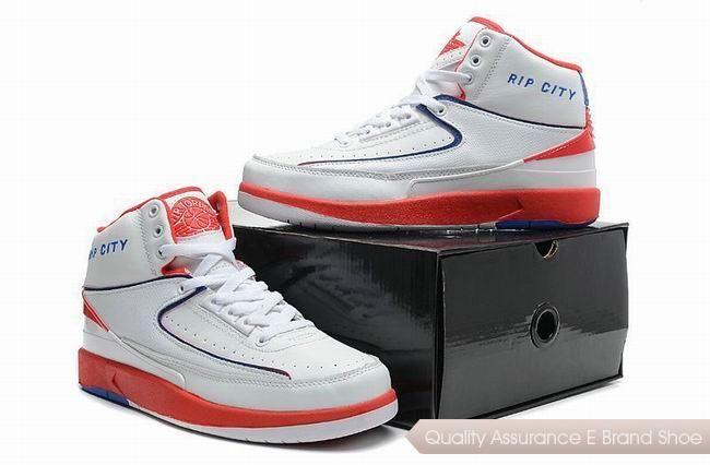 cdf061929fcd nike air jordan 2 retro rip city white red blue sneakers p 2508 Blue  Sneakers