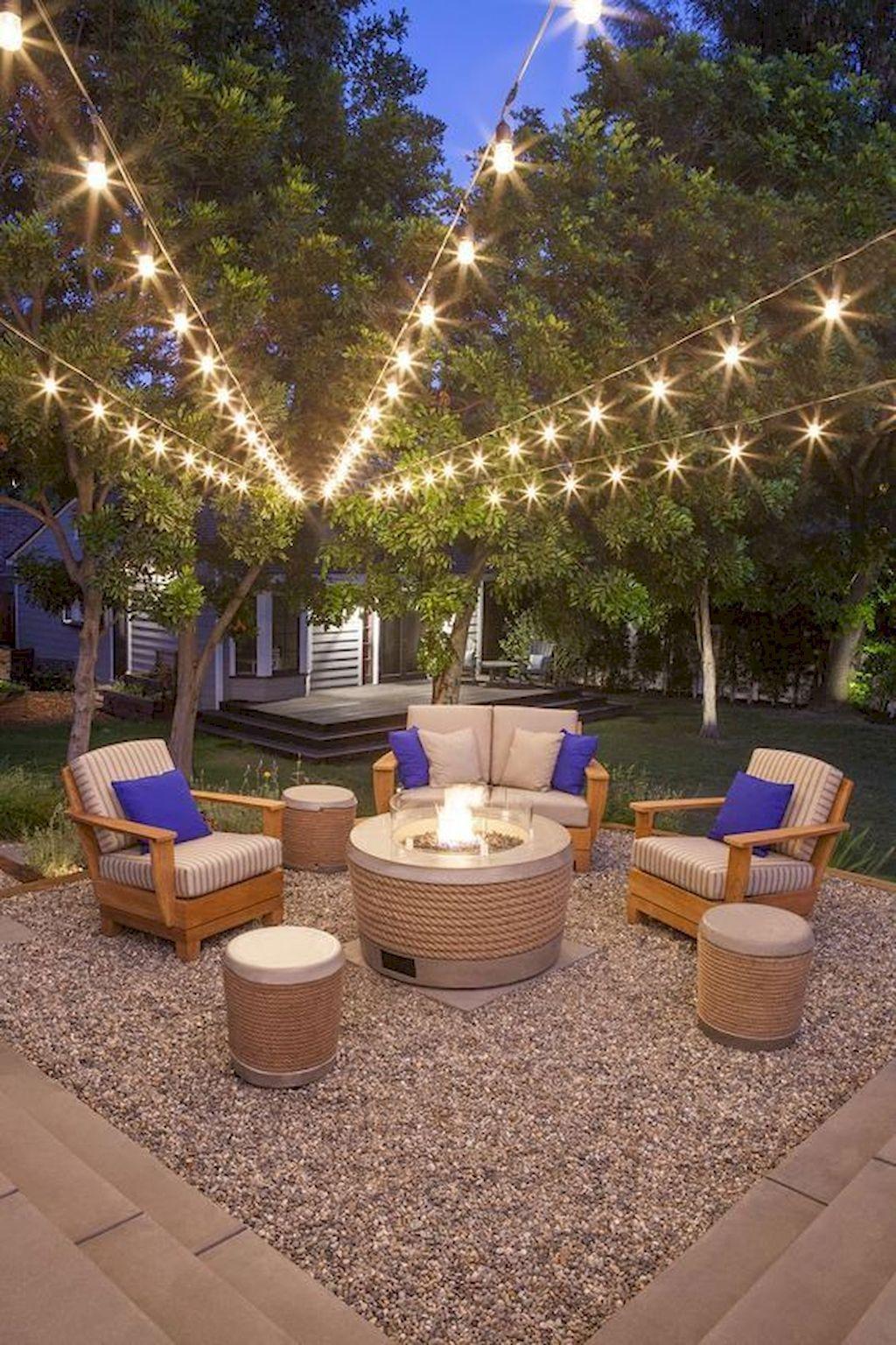 02 Summery Diy Backyard Projects Ideas To Mesmerizing Your Summer Homeideas Co Fire Pit Backyard Backyard Fire Backyard Patio