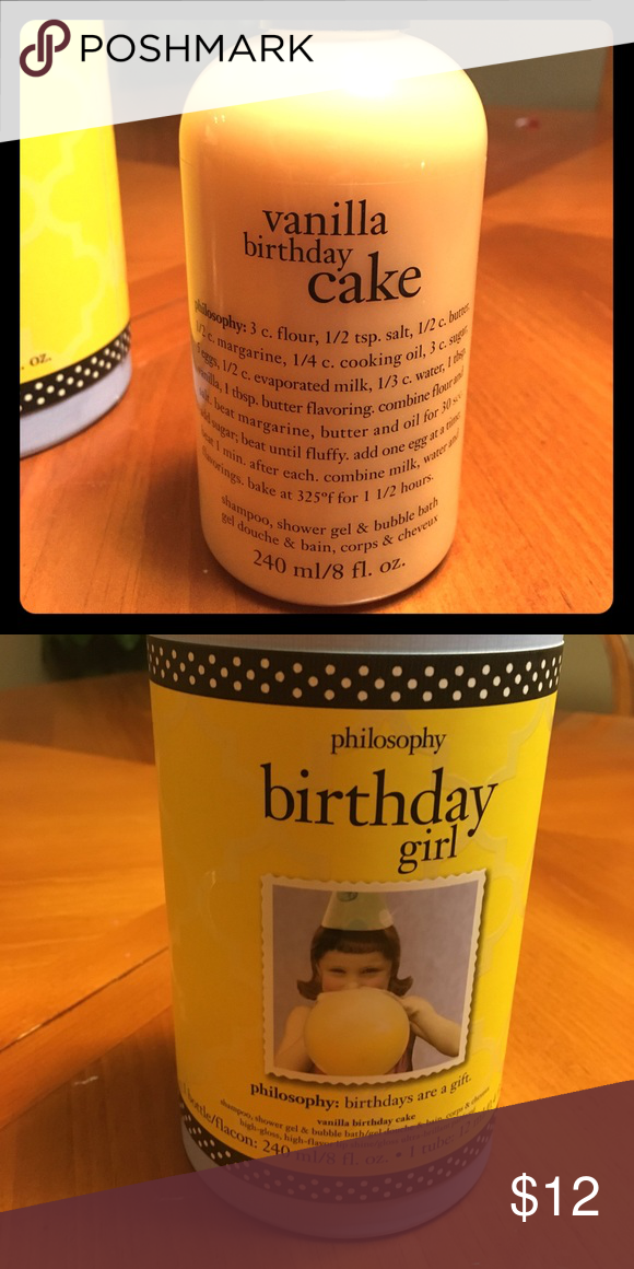 Philosophy Vanilla Birthday Cake Shampoo New Sephora Other