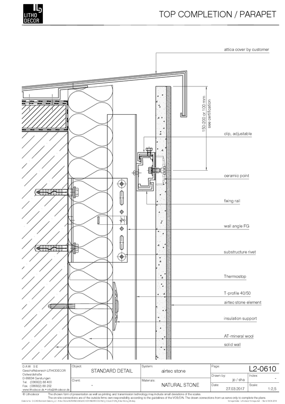 Finishes Stone Ventilated Curtain Wall Facade System With Stone Facade Stone Cladding Curtain Wall Detail