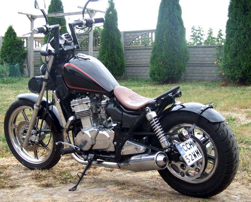 kawasaki en 500 menda custom motorcycles poland blog motos pinterest custom. Black Bedroom Furniture Sets. Home Design Ideas