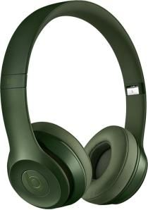 452d67481042 Beats by Dr. Dre - Solo 2 On-Ear Headphones - Hunter Green - Larger Front