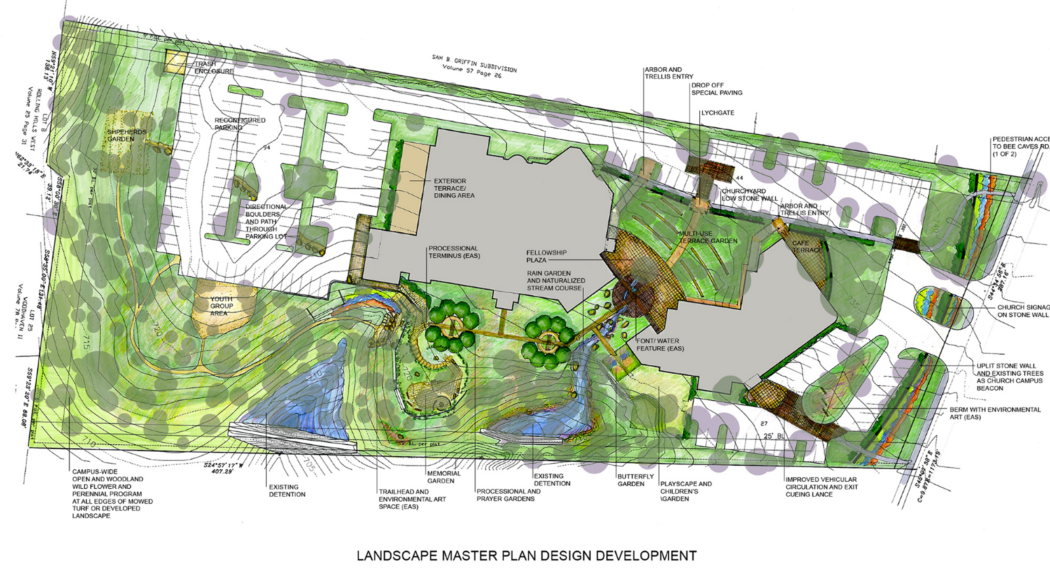 Vision For A New Campus Landscape Master Plan