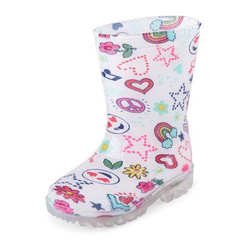 The Childrens Place Kids Rainboots Rain Boot