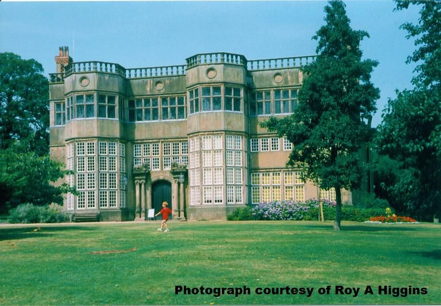 Astley Hall where I played as a child. Photograph Roy A Higgins.