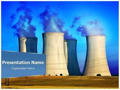 nuclear power plant powerpoint template is one of the best, Powerpoint templates
