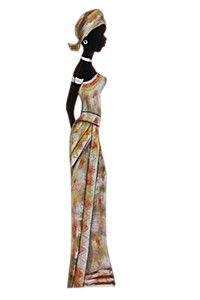 Wall Art African Fashion Summer Dresses Style