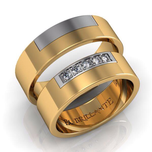 argollas de matrimonio en oro blanco y amarillo de quilates solicita nuestros catlogos