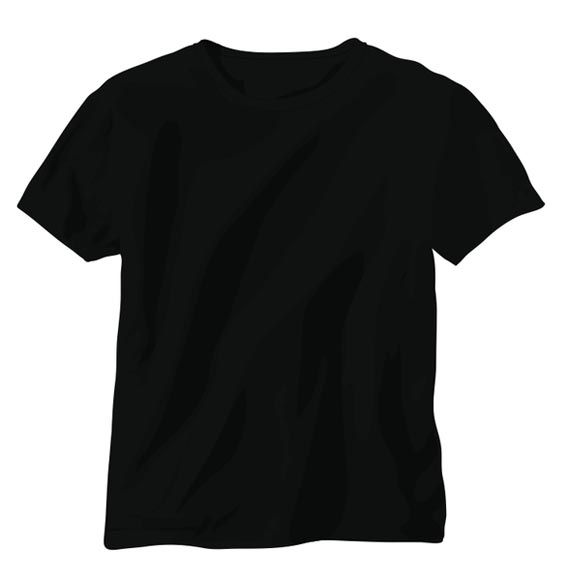 Download 21 Blank T Shirt Vector Templates Free To Download Plain Black T Shirt Shirt Template T Shirt Design Template