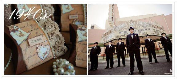 Vintage Wedding Style Planning Inspiration
