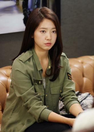 Park Shin Hye As Cha Eun Sang Kdrama Heirs The Inheritors Aktris Wanita Rambut
