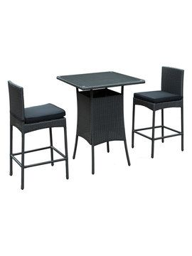 Cerveza Patio Pub Set (3 PC) From Sleek Outdoor Furniture On Gilt