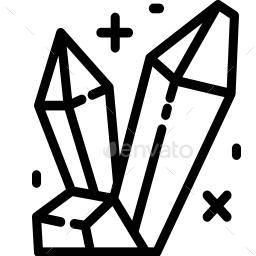 Magic And Fantasy Icons Fantasy Icon Abstract Design