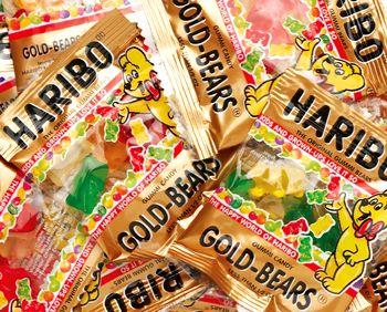 Haribo Gold-Bears 72 Mini Bags: 1 Tub - My FAVORITE! And ...