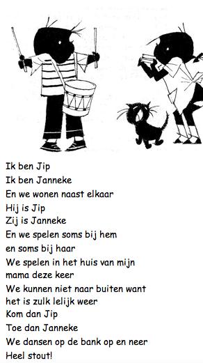Lied Jip En Janneke Schmidt Naar School Learn Dutch