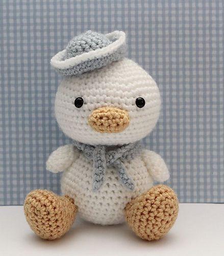 Lil Quack pattern by Little Muggles | Amigos, Tejido y Ganchillo
