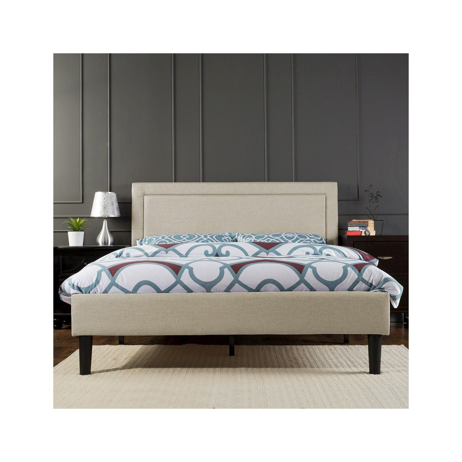 King Size Wood Slat Bed Frame Queen Platform Bed Frame Platform Bed Frame Full Bed Slats