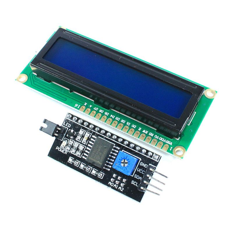 10PCS 1602 16x2 HD44780 Character LCD Display Module Yellow backlight Best