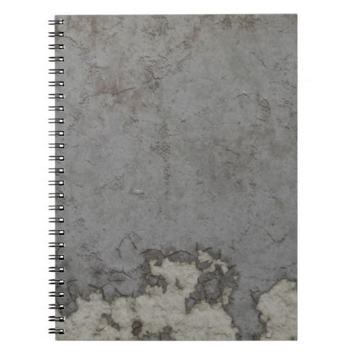 Weathered Wall Texture Note Books