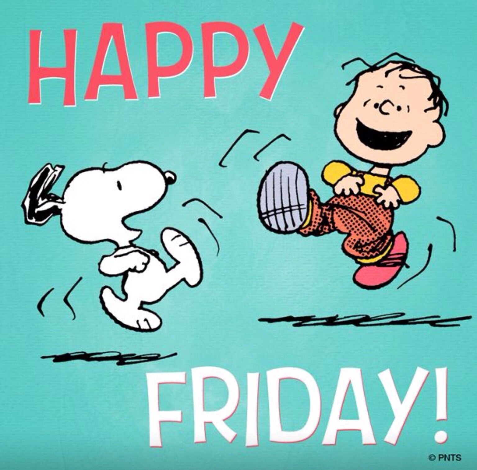 Happy Friday: Always About The Peanuts!