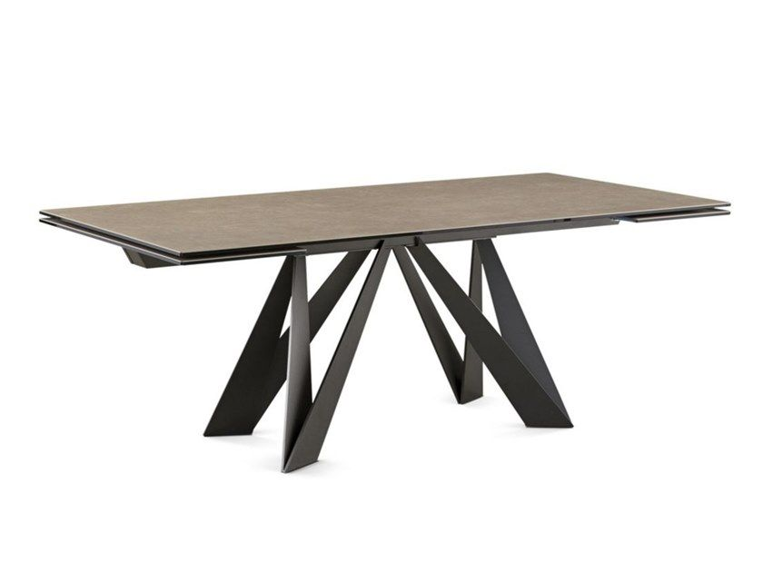 Ceramic Dining Table Cigale By Roche Bobois In 2020 Ceramic