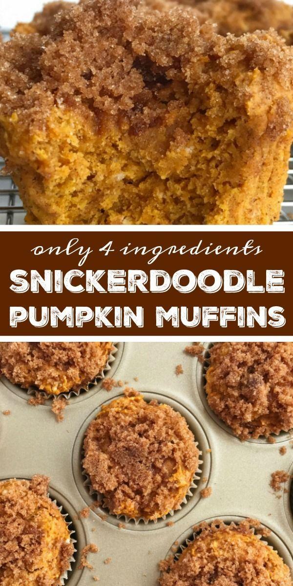Snickerdoodle Pumpkin Muffins | Pumpkin Muffin Recipe | Snickerdoodle pumpkin mu... - #muffin #Muffins #Pumpkin #recipe #Snickerdoodle #pumpkinmuffins