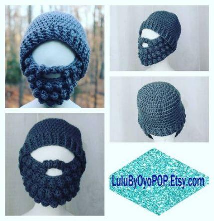 18 Ideas crochet beanie with beard shops #crochetedbeards