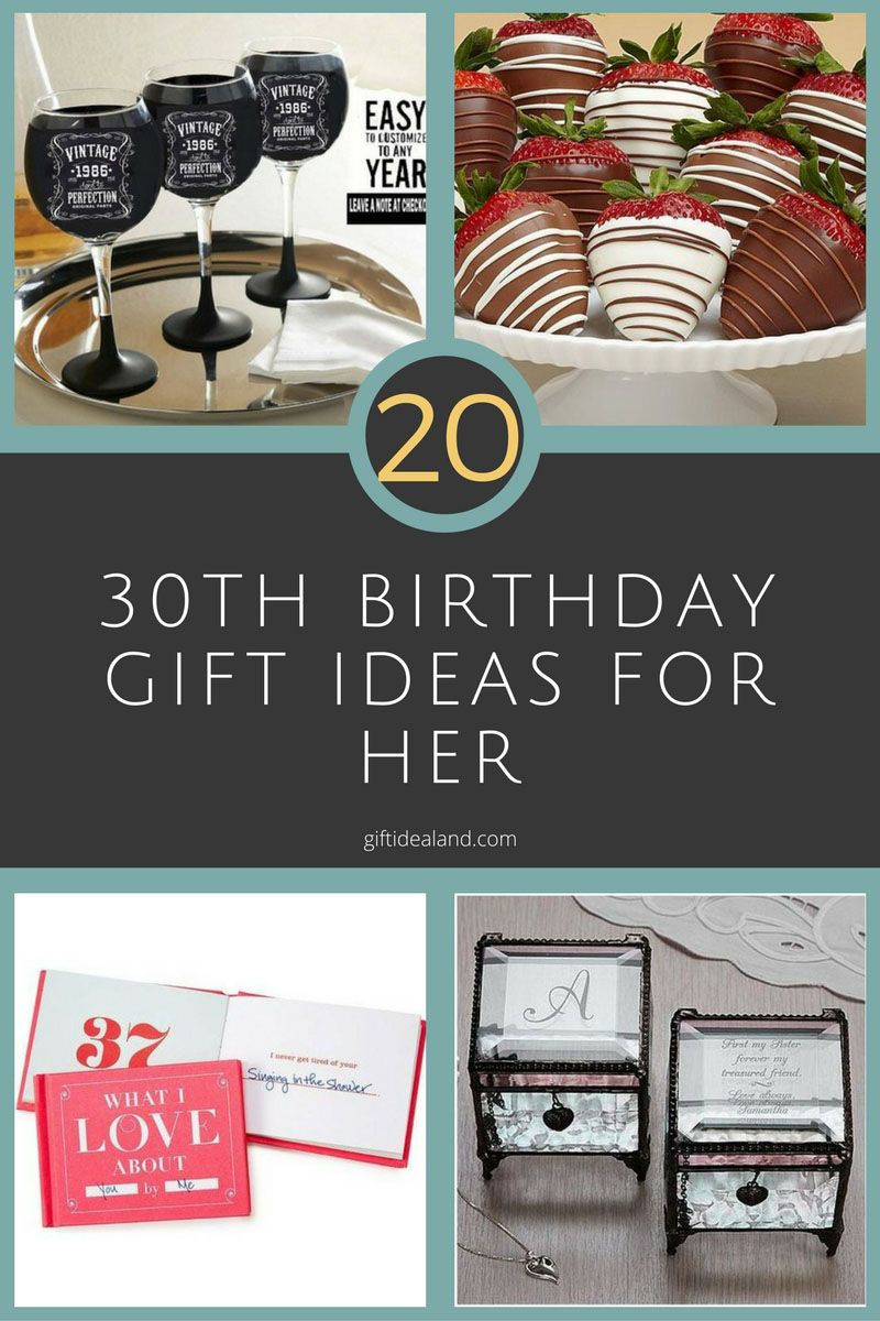 20 good 30th birthday gift ideas for women 30th birthday