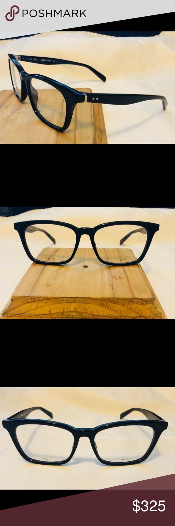 4ef283cc7acd New Celine CL 41345 Black RX Optical Frame Eyewear NEW Celine CL 41345 RX  Optical Frame