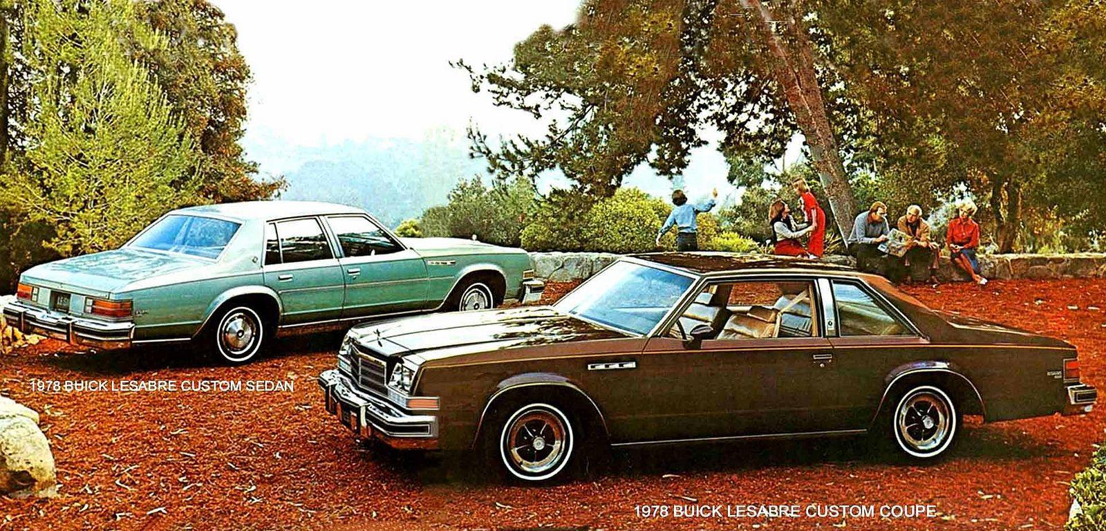 78 Buick Lesabre Coupe And Sedan Large Buick Lesabre Buick Sedan