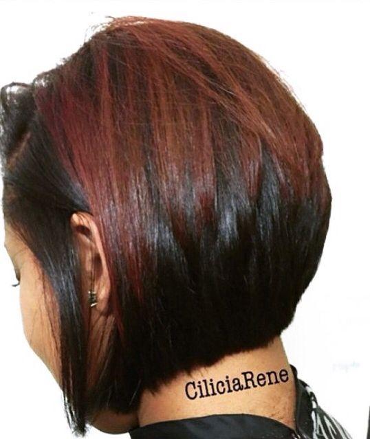 Pretty Fall Color Bob Cut Hair Beauty Pinterest Bob Cut