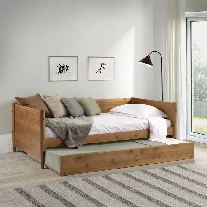 Lonna Twin Daybed With Trundle Twin Daybed With Trundle Daybed