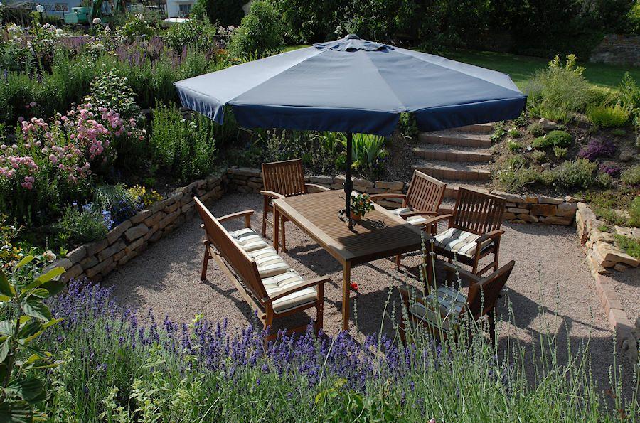 Senkgarten Und Senk(sitz)platz | Juliathomasgarten | Pinterest Senkgarten Sitzplatz Gestalten Modern