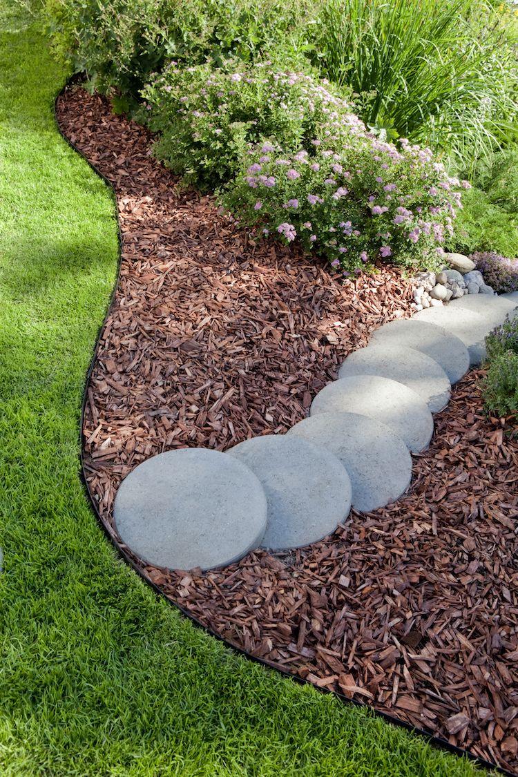 Bordure de jardin – focus sur les différents matériaux et leurs ...