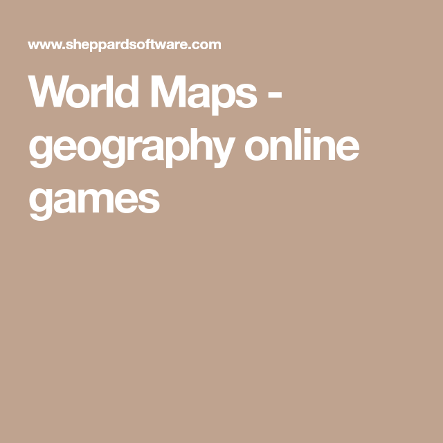 World maps geography online games teaching pinterest geography world geography quizzes galore over 250 fun online map games teach capitals country locations and more gumiabroncs Images