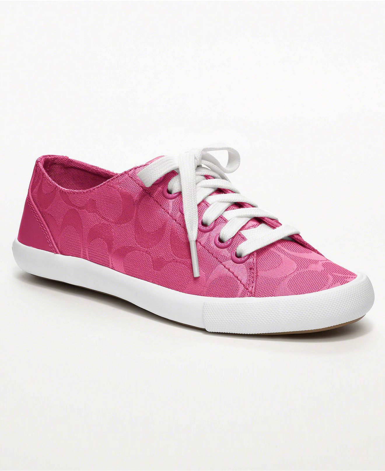 269f5ed4c55 Pink coach sneaker- I want it.