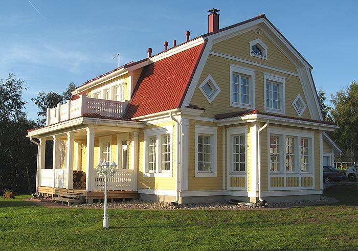 Home (Rauhala) by Kannustalo, Finland