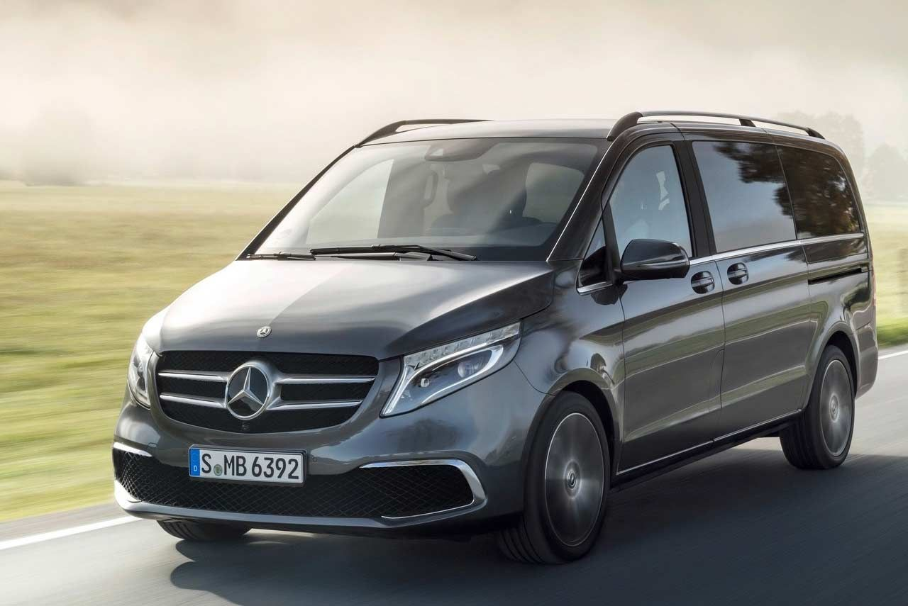 Mercedes Benz V Class Elite Priced At Inr 1 10 Crore In India