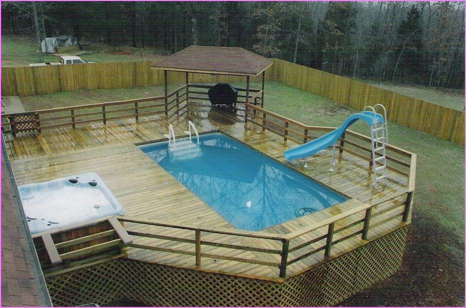 Backyard Above Ground Pool Designs above ground pool yard ideas - bing images | pool | pinterest