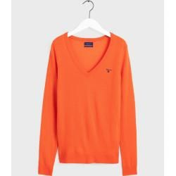 Photo of Gant Superfine Lambswool Sweater (Orange) GantGant