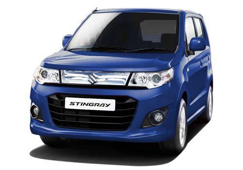 Maruti Wagon R Stingray Midnight Blue Color Wagon R Suzuki